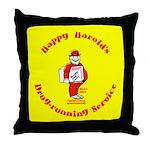 Happy Harold Throw Pillow
