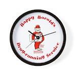 Happy Harold Wall Clock