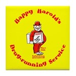 Happy Harold Tile Coaster