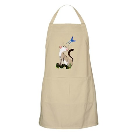 Looking At A Butterfly BBQ Apron
