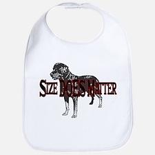 Rottweiler- Size Does Matter Bib