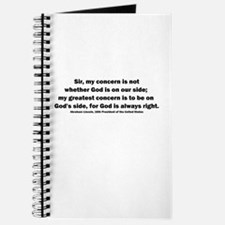 Abraham Lincoln Quote Journal