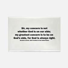 Abraham Lincoln Quote Rectangle Magnet