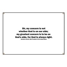 Abraham Lincoln Quote Banner