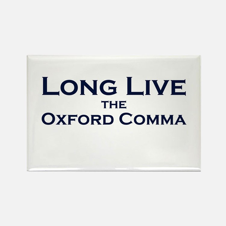 Oxford Comma Rectangle Magnet (100 pack)