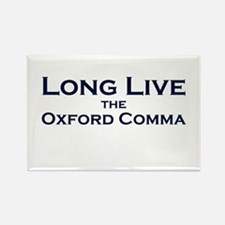 Oxford Comma Rectangle Magnet (10 pack)