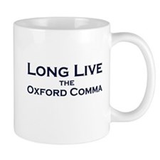 Oxford Comma Small Mug
