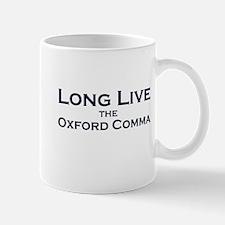 Oxford Comma Small Mugs