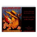 Loraine and the Little People Wall Calendar