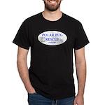 Polar Pug Rescue Logo Dark T-Shirt