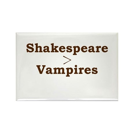 Shakespeare > Vampires Rectangle Magnet