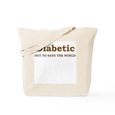 Diabetic Hero Tote Bag