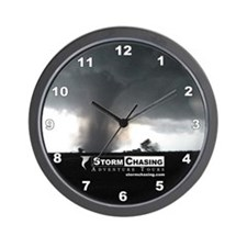 Cool Stormchaser Wall Clock