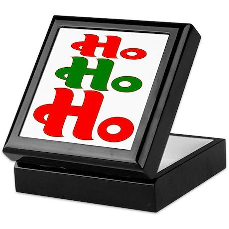 Ho Ho Ho Keepsake Box