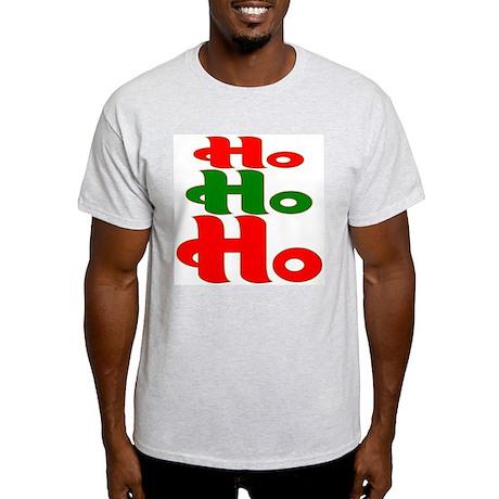 Ho Ho Ho Ash Grey T-Shirt