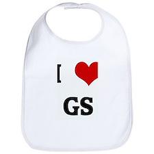 I Love GS Bib