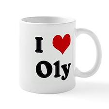 I Love Oly Mug