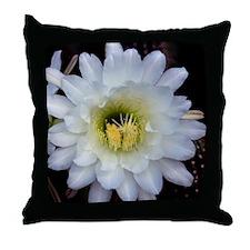 Cactus Flower 4353 Throw Pillow