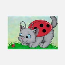Kittybug Rectangle Magnet