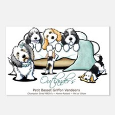 Outlander's PBGV's Postcards (Package of 8)