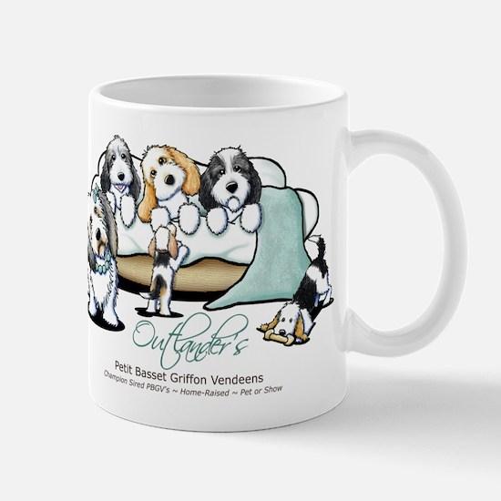 Outlander's PBGV's Mug