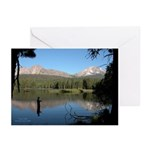 Manzanita Lake Lassen CA. Greeting Cards 10 pk