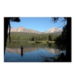Manzanita Lake, Lassen CA. Postcards 8 pack