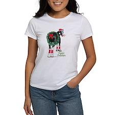 Christmas Shire Draft Horse Tee