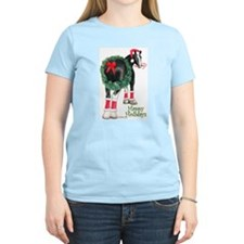 Christmas Shire Draft Horse T-Shirt