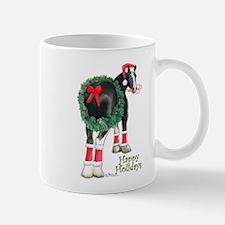 Christmas Shire Draft Horse Mug