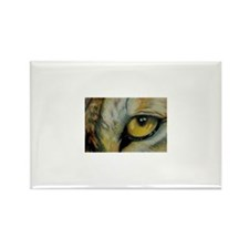WolfWatcher Rectangle Magnet (100 pack)