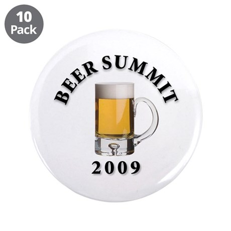 "Beer Summit - 3.5"" Button (10 pack)"