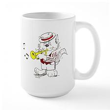 Trumpet Cat Mug