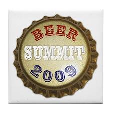 Beer Summit - Tile Coaster