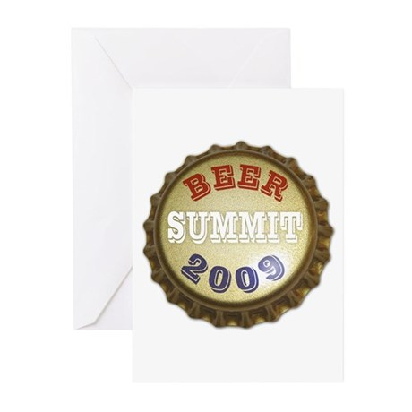 Beer Summit - Greeting Cards (Pk of 20)