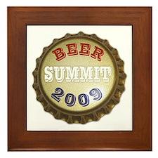 Beer Summit - Framed Tile