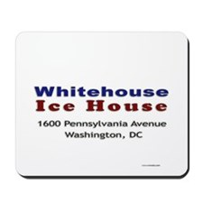 Whitehouse Ice House Mousepad