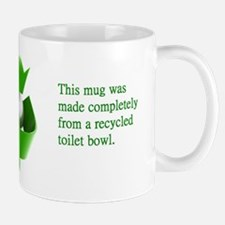 Funny Recycled Toilet Bowl Mug