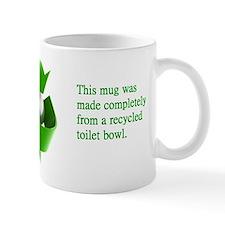 Funny Recycled Toilet Bowl Mug