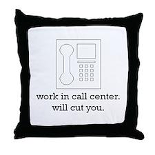 call center collection Throw Pillow