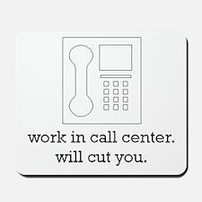 call center collection Mousepad