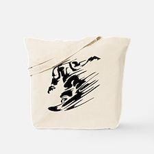 SNOWBOARDING! Tote Bag