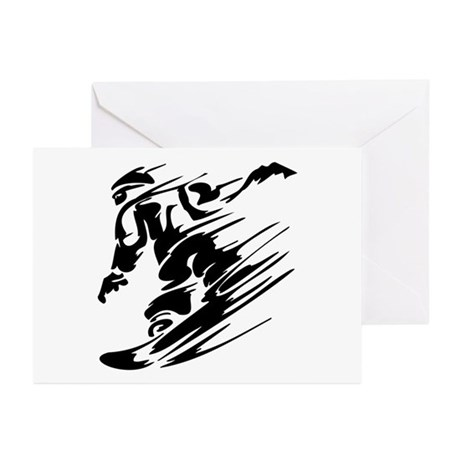 SNOWBOARDING Greeting Cards (Pk of 20)
