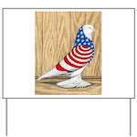 Patriotic West Pigeon2 Yard Sign