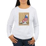 Patriotic West Pigeon2 Women's Long Sleeve T-Shirt