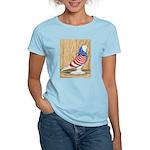 Patriotic West Pigeon2 Women's Light T-Shirt