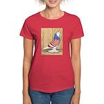 Patriotic West Pigeon2 Women's Dark T-Shirt