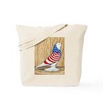 Patriotic West Pigeon2 Tote Bag