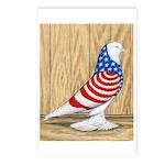 Patriotic West Pigeon2 Postcards (Package of 8)