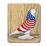 Patriotic West Pigeon2 Mousepad